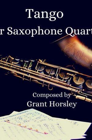 """""""Tango"""" for Saxophone Quartet"""