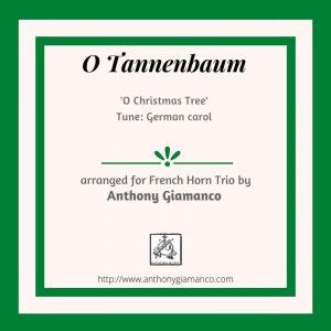 O Tannenbaum – Horn Trio