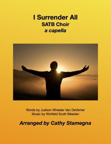 SATB I Surrender All title JPEG