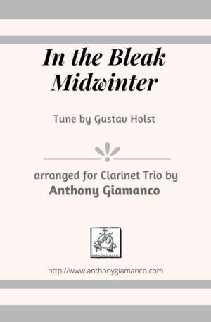 In the Bleak Midwinter – Clarinet Trio