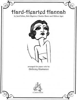 HARD-HEARTED HANNAH – jazz piano solo