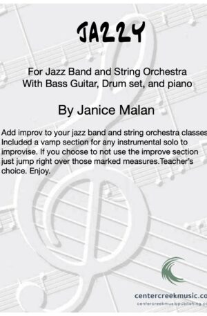 Jazzy for Jazz Band and String Orchestra