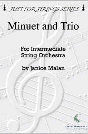 Minuet and Trio for String Orchestra