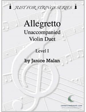 Allegretto Level I Violin Duet