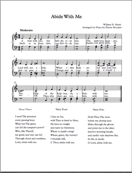 Abide With Me SMM new