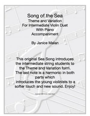 Song of the Sea Violin Duet