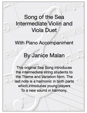 Song of the Sea Violin/Viola Duet