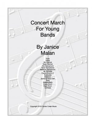 Concert March for Beginning Band