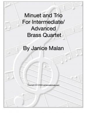 Minuet and Trio for Brass Quartet