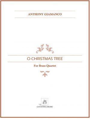 O CHRISTMAS TREE – brass quartet