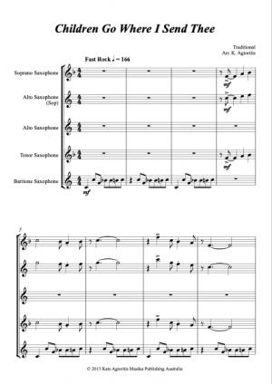 Jazz Carols Collection – Set Seven – Saxophone Quartet