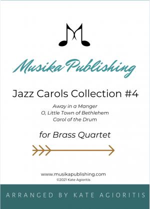 Jazz Carols Collection – Set Four – Brass Quartet