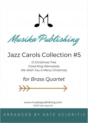 Jazz Carols Collection – Set Five – Brass Quartet