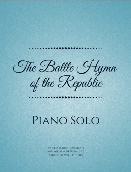 The Battle Hymn of the Republic - Piano Solo webcover