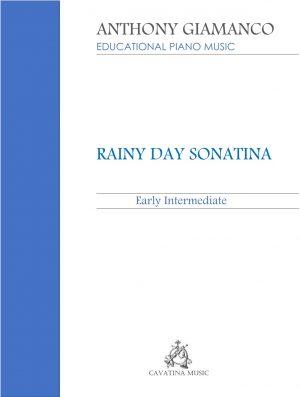 RAINY DAY SONATINA – piano solo