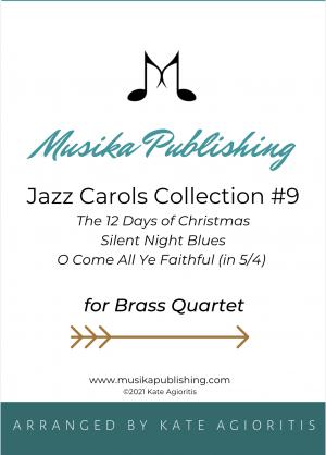 Jazz Carols Collection for Brass Quartet – Set Nine