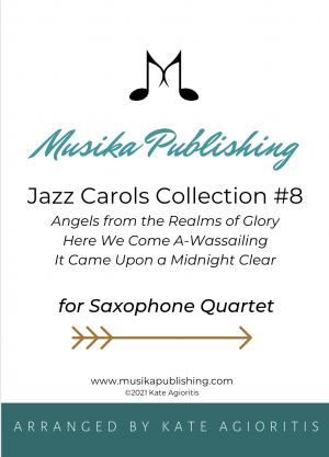 Jazz Carols Collection – Set Eight – Saxophone Quartet