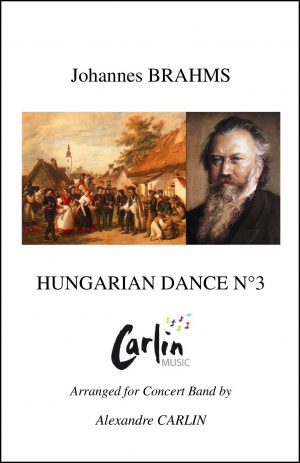 Brahms – Hungarian dance No.3 for Concert Band