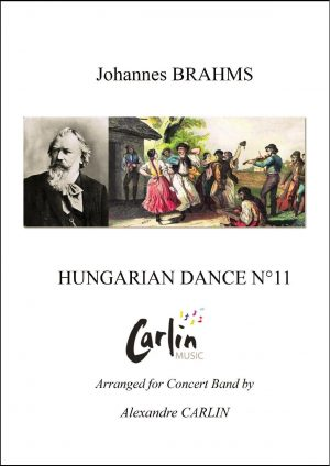 Brahms – Hungarian dance No.11 for Concert Band