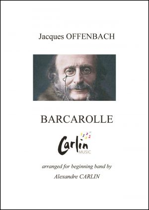 Offenbach – Barcarolle for Beginning Band