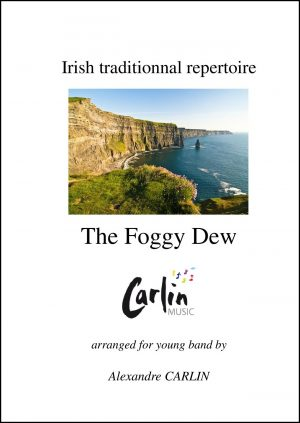 Irish traditional – The Foggy Dew for Young Band
