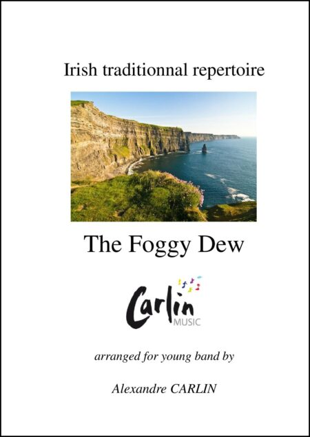 Foggy dew Webcover with border