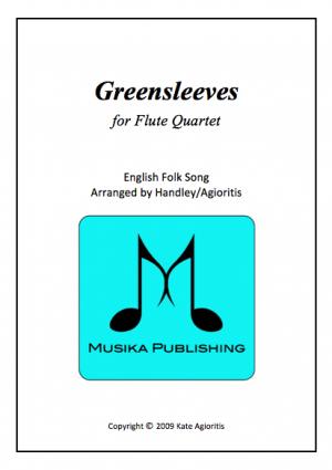 Greensleeves (What Child Is This?) – Jazz Arrangement for Flute Quartet