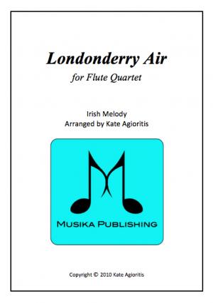 Londonderry Air – Jazz Arrangement for Flute Quartet