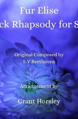 """Fur Elise"" -A Jazz and Rock Rhapsody- Piano solo- Advanced Intermediate"