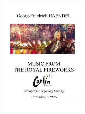 Haendel – Music for the royal fireworks for beginning band