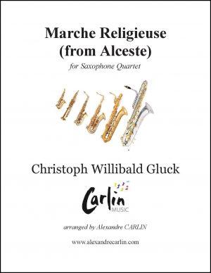 Gluck – Marche religieuse d'Alceste for Saxophone Quartet