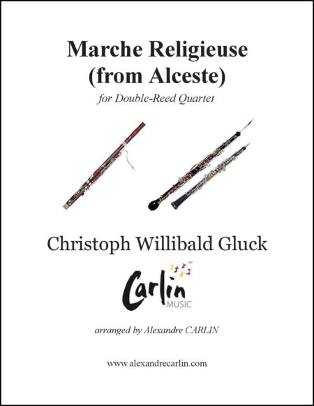 Marche religieuse dAlceste double reed Webcover with border