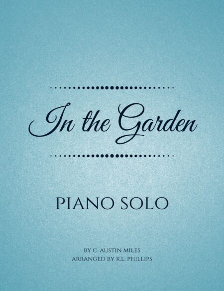 In the Garden - Piano Solo webcover