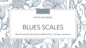 Blues Scales
