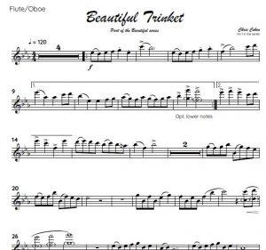 No.1 Beautiful Trinket (Flute or Oboe)