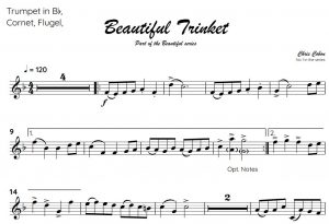 No.1 Beautiful Trinket (Trumpet, Flugel or Cornet)