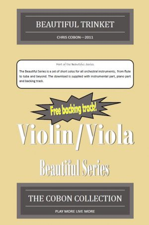 No.1 Beautiful Trinket (Violin or Viola)