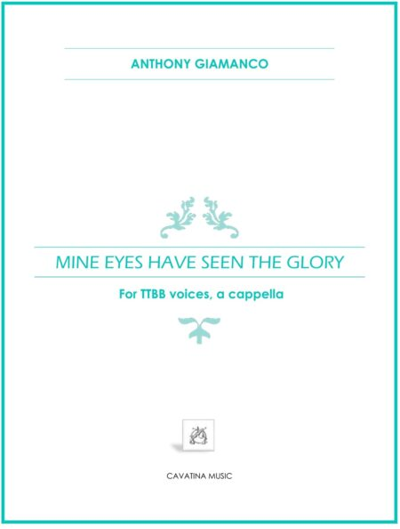 Mine Eyes Have Seen the Glory TTBB 0001