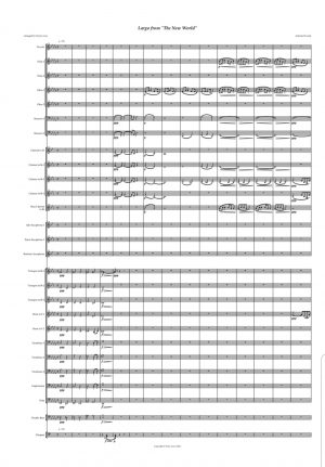 """Largo"" From The New World Symphony – Concert Band"