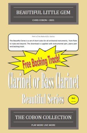 No.2 Beautiful Little Gem (Clarinet or Bass Clarinet)