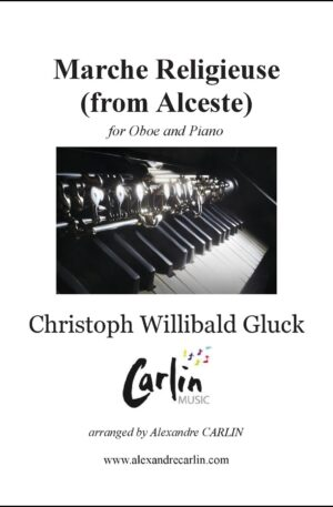 Gluck – Marche religieuse d'Alceste for Oboe and Piano