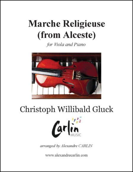 Marche religieuse dAlceste viola piano Webcover with border 1