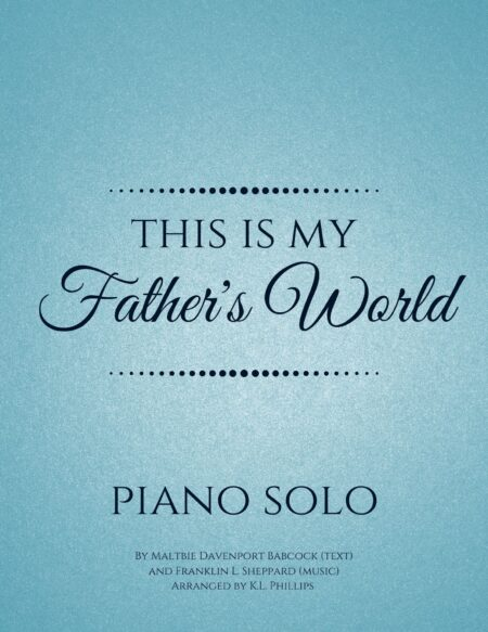 This Is My Father's World - Piano Solo webcover