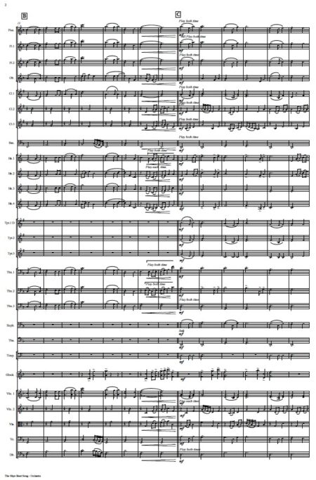 530 The Skye Boat Song ORCHESTRA Sample page 002