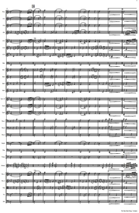 530 The Skye Boat Song ORCHESTRA Sample page 003