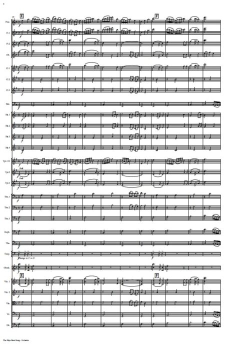 530 The Skye Boat Song ORCHESTRA Sample page 004