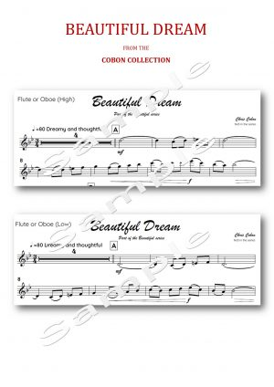 No.3 Beautiful Dream (Flute or Oboe)