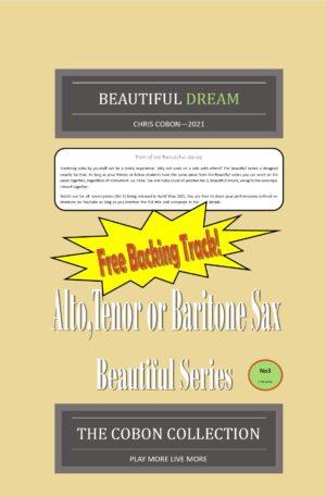 No.3 Beautiful Dream (Alto, Tenor or Baritone Saxophone)