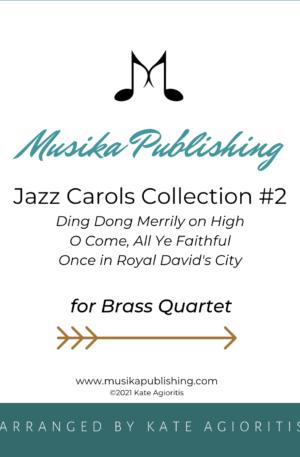 Jazz Carols Collection for Brass Quartet – Set Two