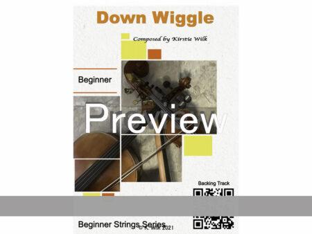 Down Wiggle Title promo